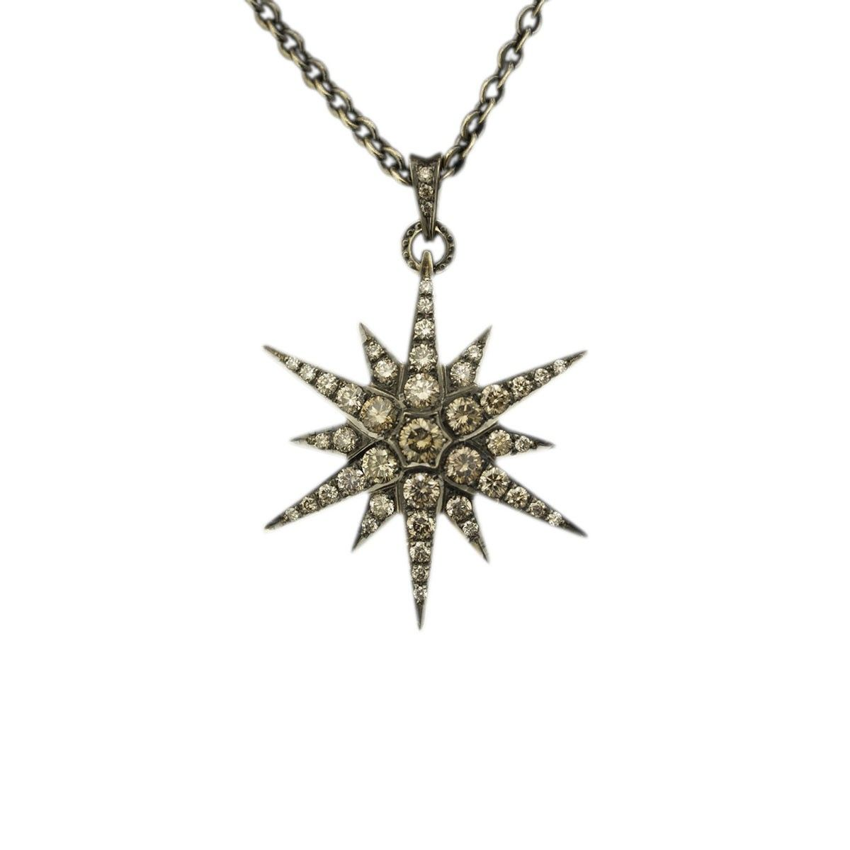 Hern 18k diamond star pendant necklace jewelry pinterest hern 18k diamond star pendant necklace mozeypictures Image collections