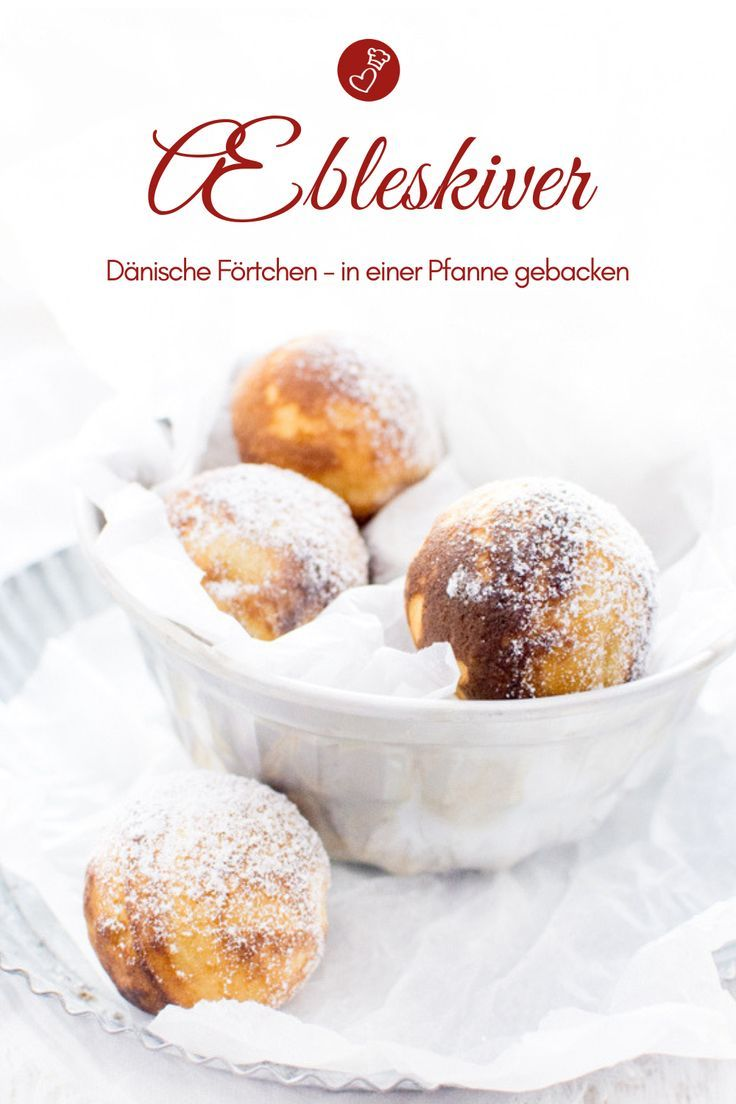 Photo of Danish Æbleskiver – my recipe and the difference to futtjes (cake)