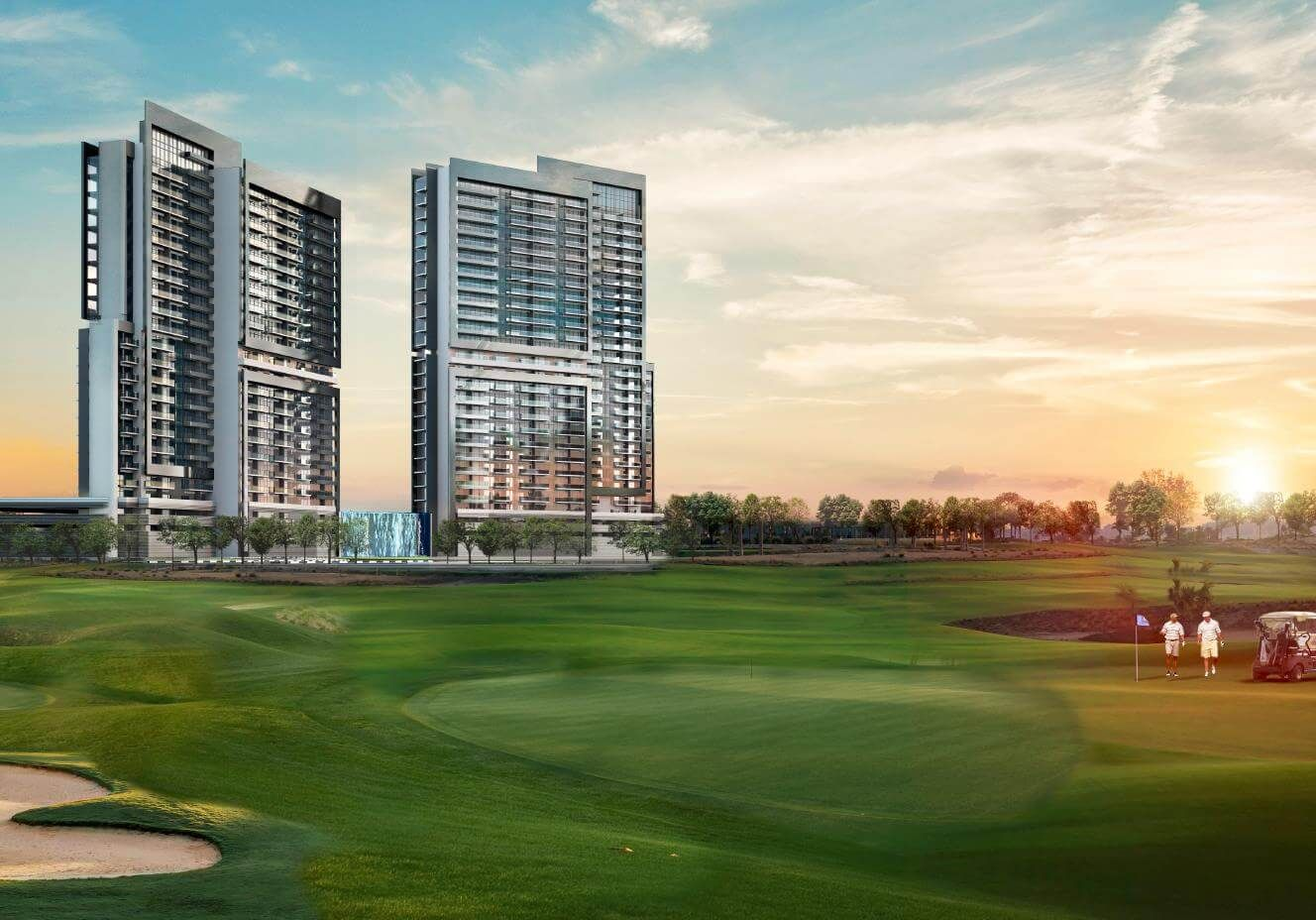 Golf Vita Apartments in Damac Hills | Dubai houses, Golf ...
