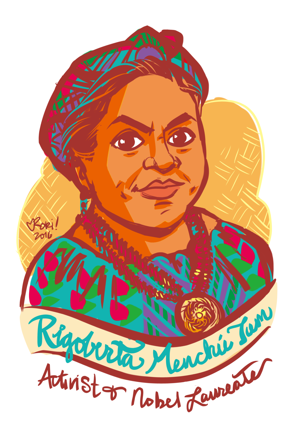 i rigoberta menchu Rigoberta menchú, from guatemala, is a leader, an advocate for indian rights, and winner of the nobel peace prize i made the following very short presentation as a mini-biography to introduce her i made the following very short presentation as a mini-biography to introduce her.