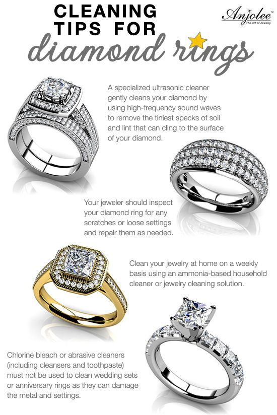 Cleaning Tips For Diamond Rings Cleaning Ideas Cleaning Tips