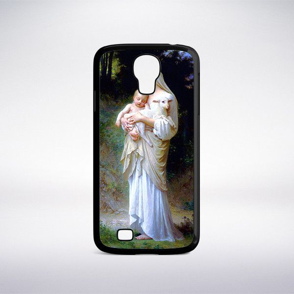 William-Adolphe Bouguereau - Innocence Phone Case