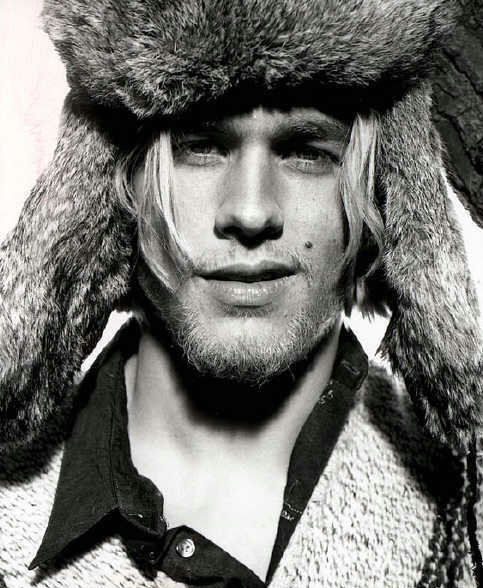 Charlie Hunnam - tall, blonde, foreign accent, and Monroe mole to boot - what is not to love?