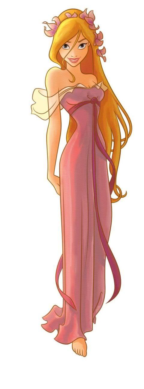 Giselle's pink animated dress - Enchanted