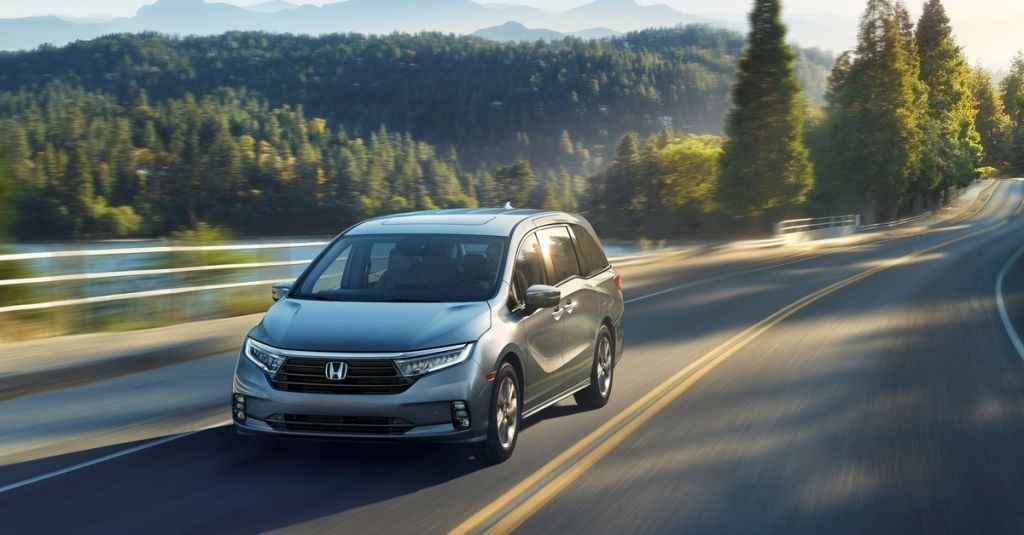 2021 Honda Odyssey Previewed Audi Rs 6 Avant Priced Ev Porsche Coupes Not Here Yet What S New The Car Connection In 2020 Honda Odyssey Honda Odyssey Reviews Honda