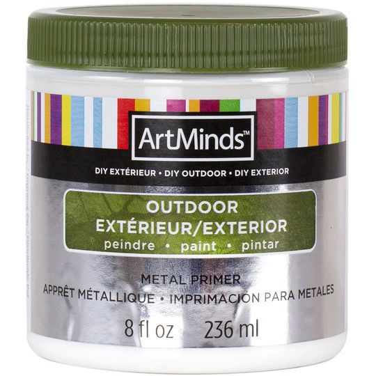 Diy Outdoor Metal Primer By Artminds Products