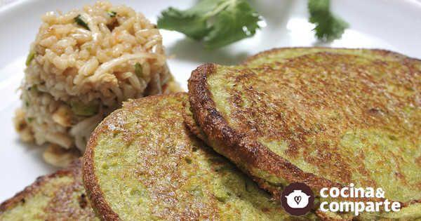Carne vegetariana hecha por Sandra Flores. Una forma muy fácil de preparar milanesas, hamburguesas o nuggets vegetarianos.