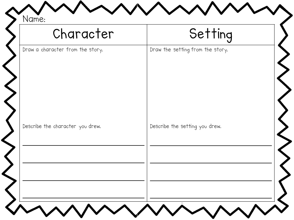 Printables Character And Setting Worksheets 1000 images about characters and settings on pinterest character setting plot graphic organizers list of traits