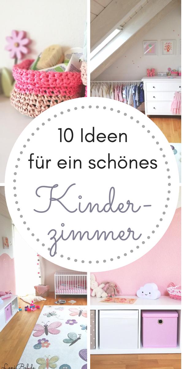 Kinderzimmer Einrichten   10 Deko Ideen Und Tipps Zu Farbwahl Und  Einrichtung Für Babyzimmer Und Kinderzimmer