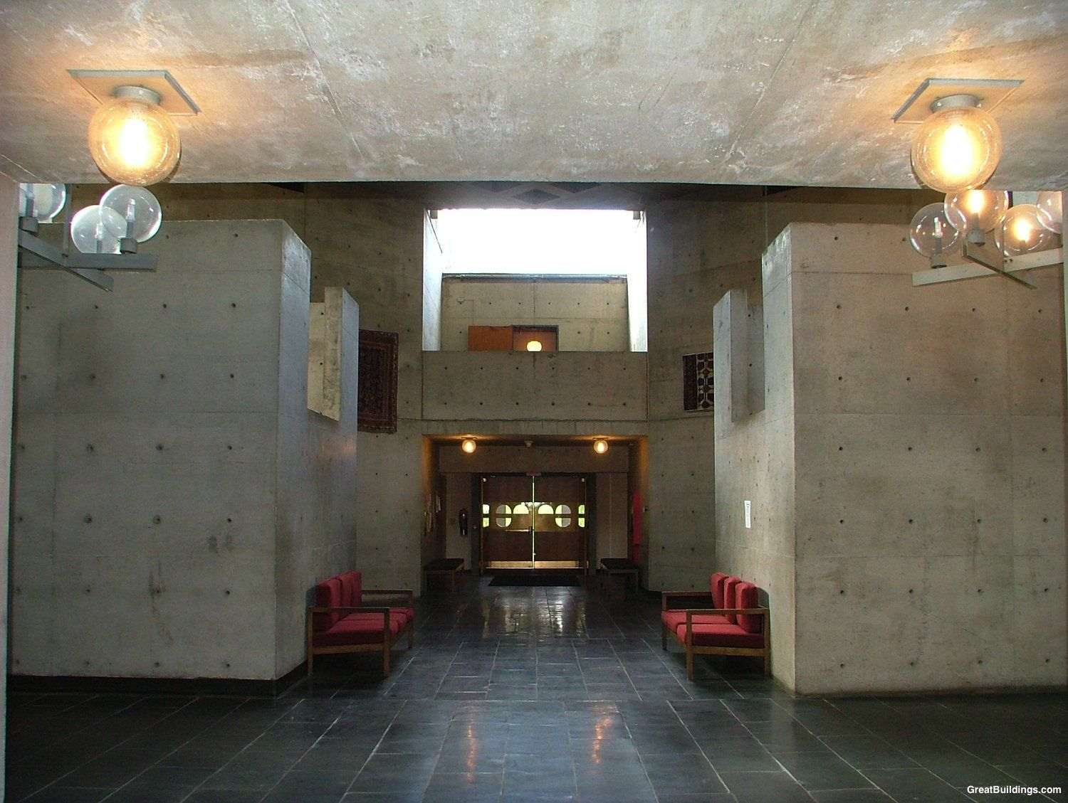 Architect Louis Kahn Believed That His Erdman Hall Dormitories, A Dormitory  For Girls Built On Pictures