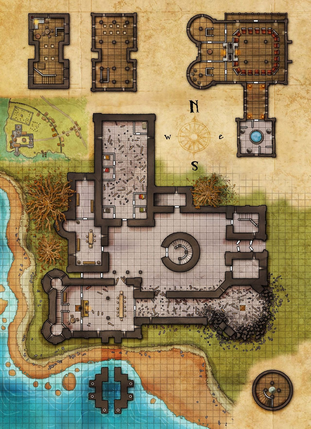 Fantasy maps by robert lazzaretti pathfinder pinterest for House map creator