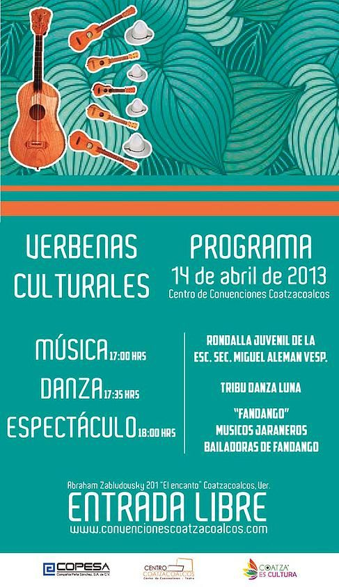 Diseño De Cartel Para Evento Cultural Centro De Convenciones