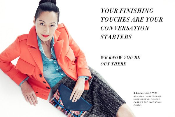 "I used to work with Angela at MoMA! Looking Fabulous in this J. Crew Campaign! ""This Might Be The Best J.Crew Ad Campaign We Have Ever Seen"" Refinery 29"