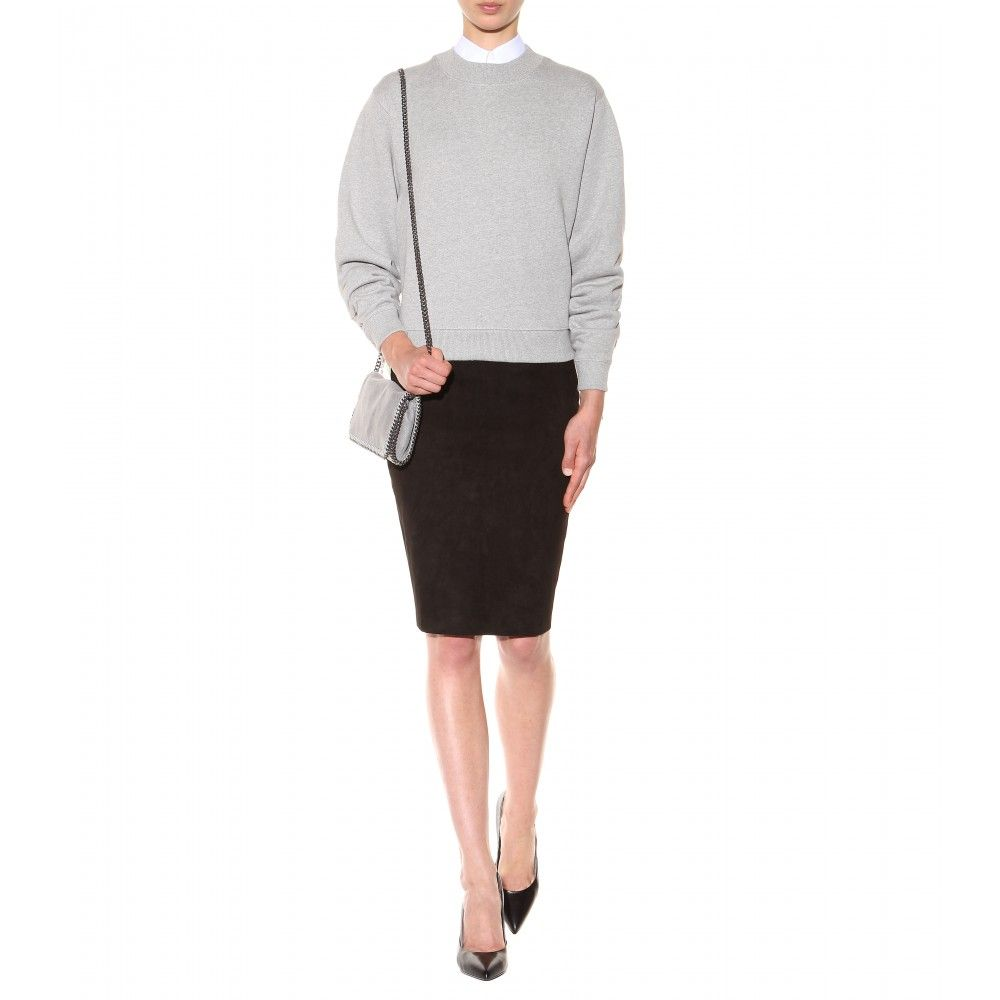 mytheresa.com - Kurzes Sweatshirt Bird - Sweatshirts - Strick - Kleidung - Luxury Fashion for Women / Designer clothing, shoes, bags