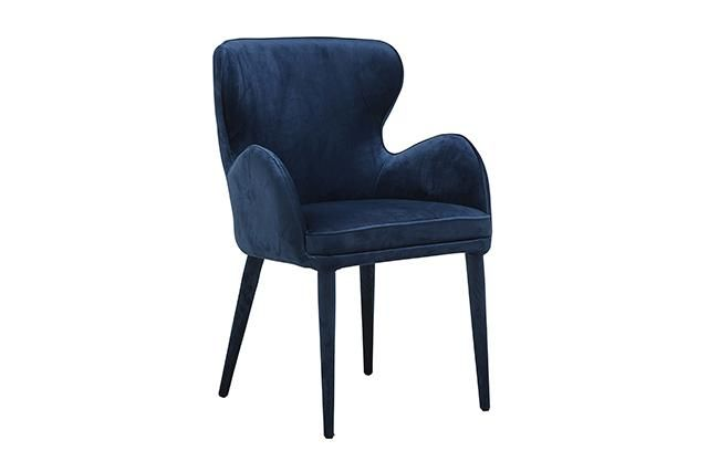 Globewest Daphne Dining Arm Chair Globewest Velvet Luxe Soft