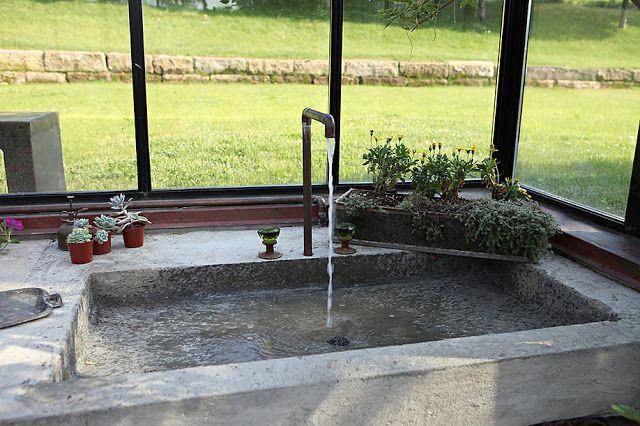 OBJECT OF DESIRE: Stone sink