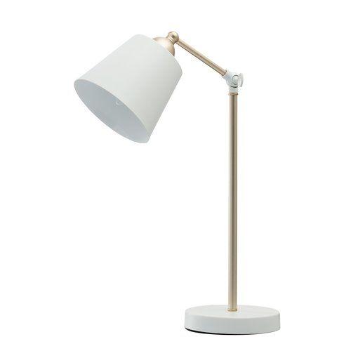 45cm Desk Lamp Regenbogen Finish: White | Lamp, Adjustable