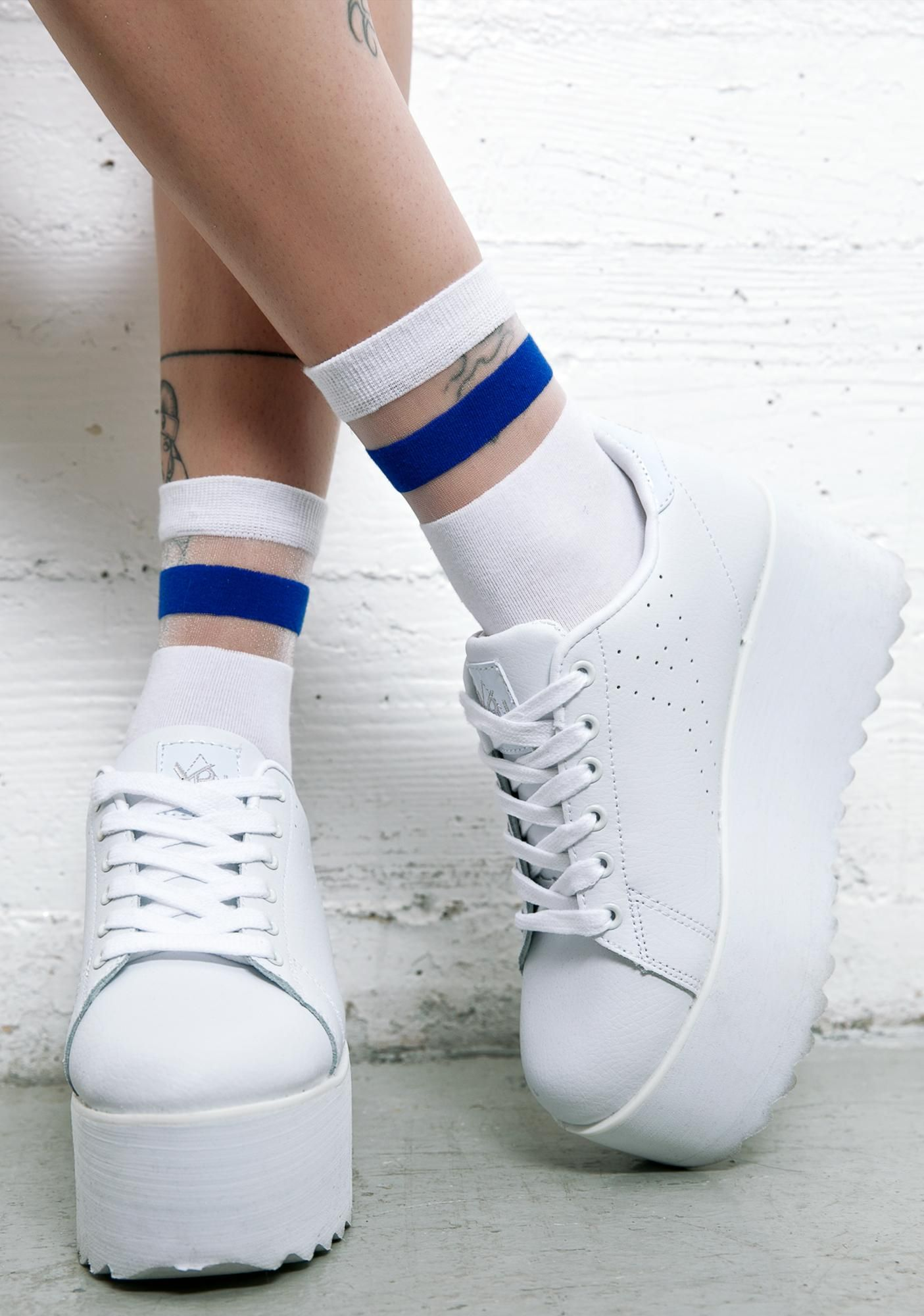 Y.R.U. Angelic Lala Platform Sneakers