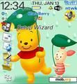 Download mobile theme Pooh with his friends