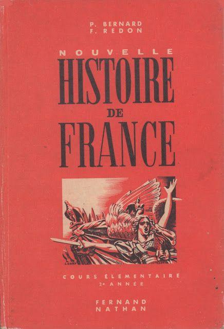 Bernard Redon Nouvelle Histoire De France Ce2 1956