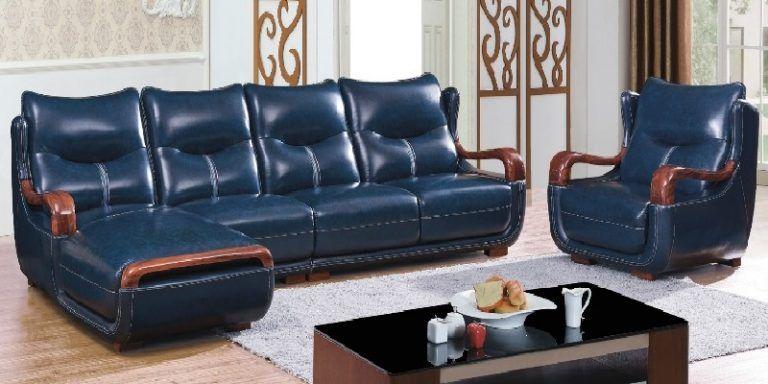 Italian Leather Corner Sofa Bed