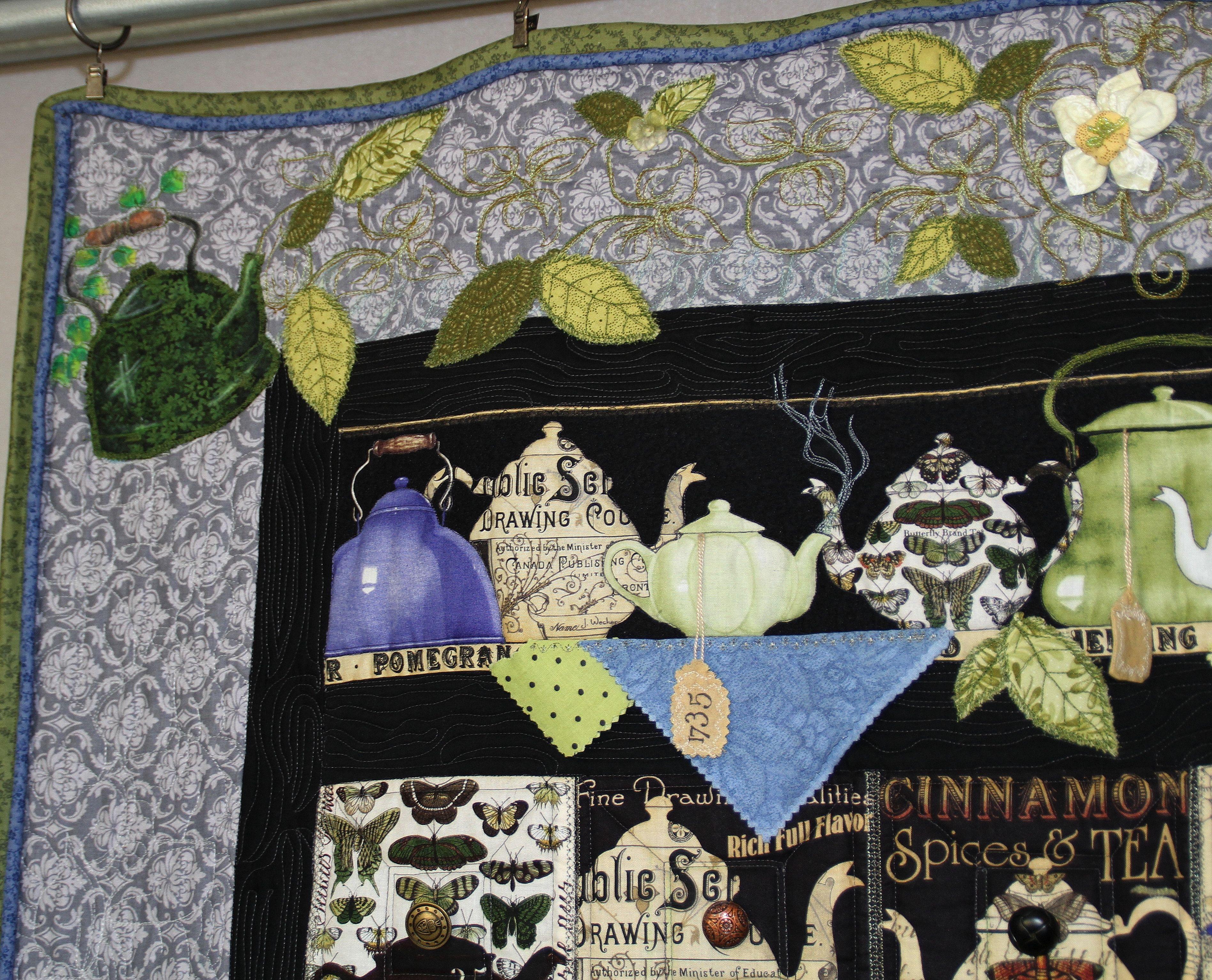 teapot quilt