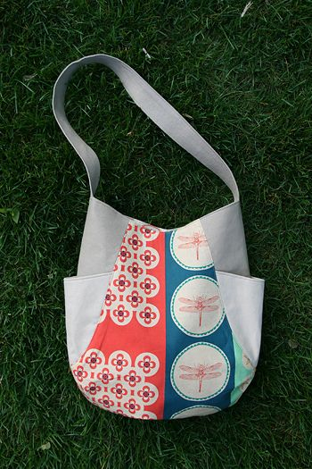 241 Tote pattern from Noodlehead (this one made by Fresh Lemons ...