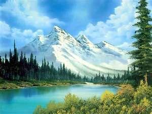 Famous Landscape Paintings Austin Home Improvement Blog Easy Landscape Paintings Landscape Paintings Acrylic Bob Ross Landscape