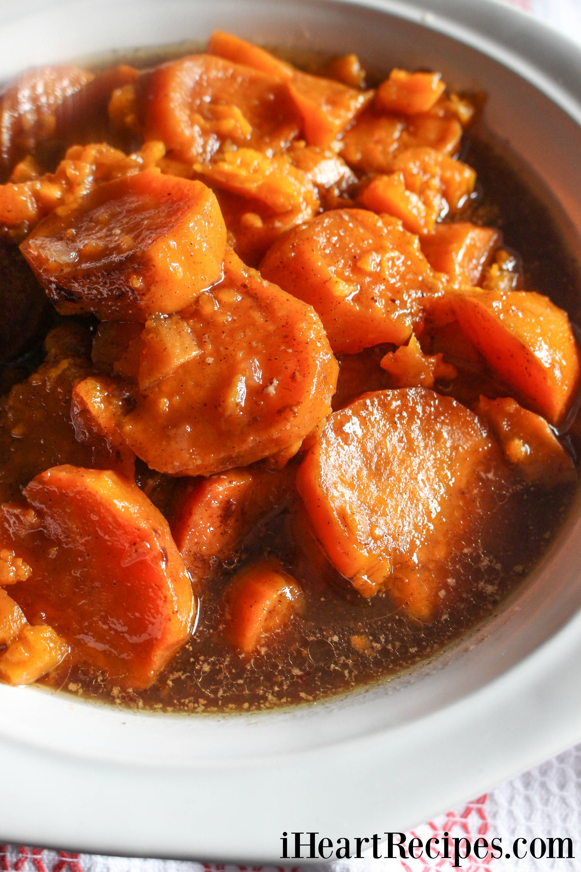 Slow Cooker Candied Yams | I Heart Recipes