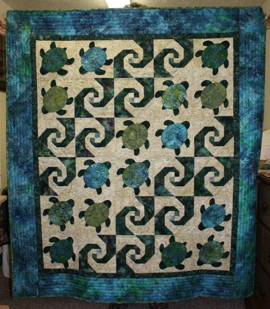 Snails Trail Quilt Pc Sewing Arte
