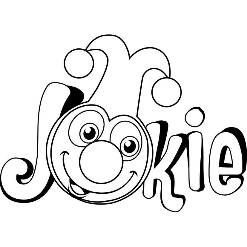 kleurplaten jokie en jet