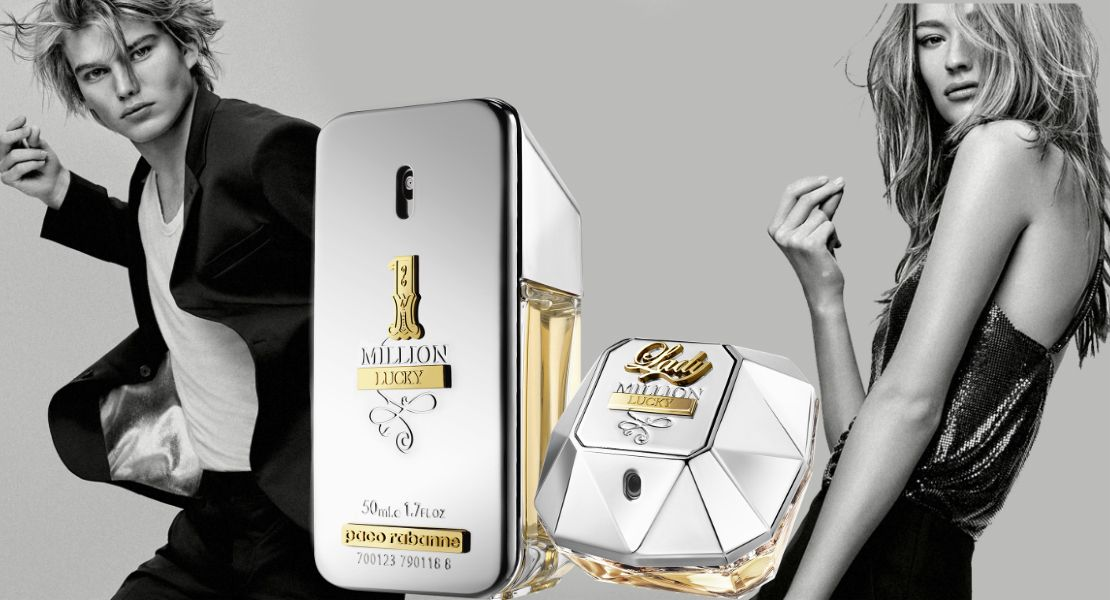 Choose Your Signature Fragrance Paco Rabanne Million Lucky Or Lady Million Lucky Reastars Perfume And Beauty Magazine Signature Fragrance Paco Rabanne Paco Rabanne Lady Million