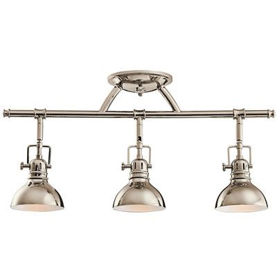 Rail lights 3 light directional track kit kitchens track lighting rail lights 3 light directional track kit aloadofball Choice Image
