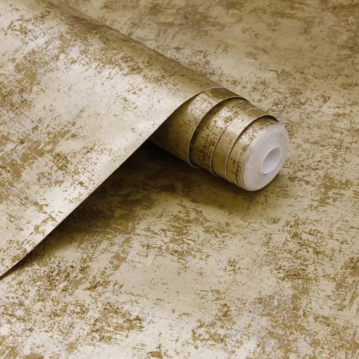 Tempaper Distressed Leaf Self Adhesive Removable Wallpaper Gold Gold Leaf Prints Peel And Stick Wallpaper Removable Wallpaper