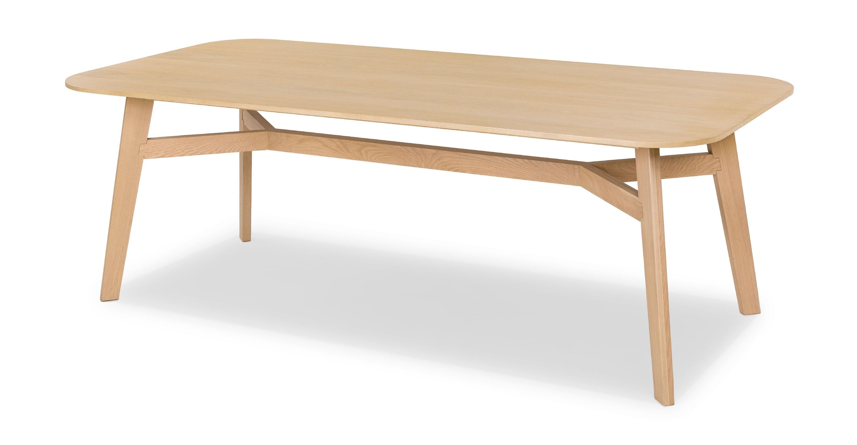 Ventu Light Oak Dining Table For 8 Light Oak Dining Table