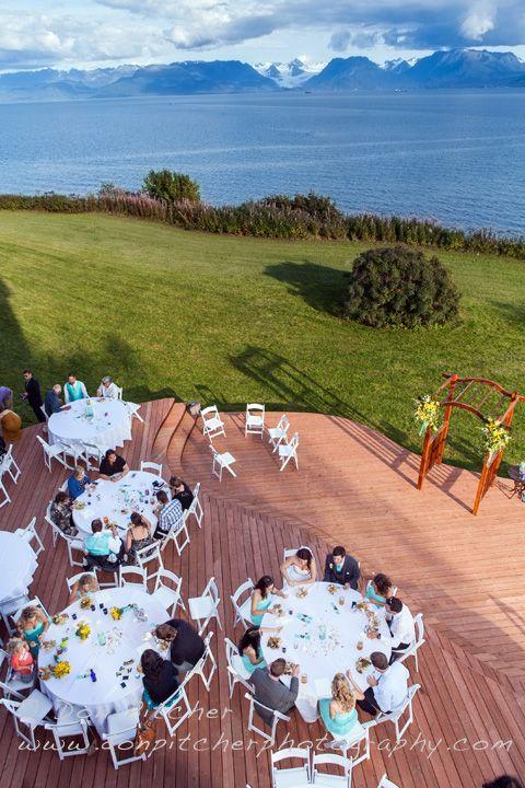Wedding At Second Star In Homer Alaska Alaskawedding Destinationwedding