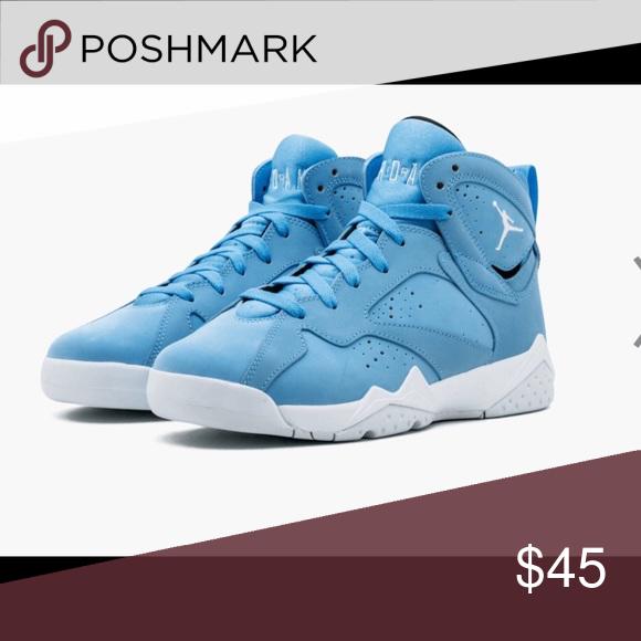 new concept d979f bb0b7 Kids Jordan s Air Jordan 7 retro baby blue toddler size 9 Jordan Shoes  Sneakers