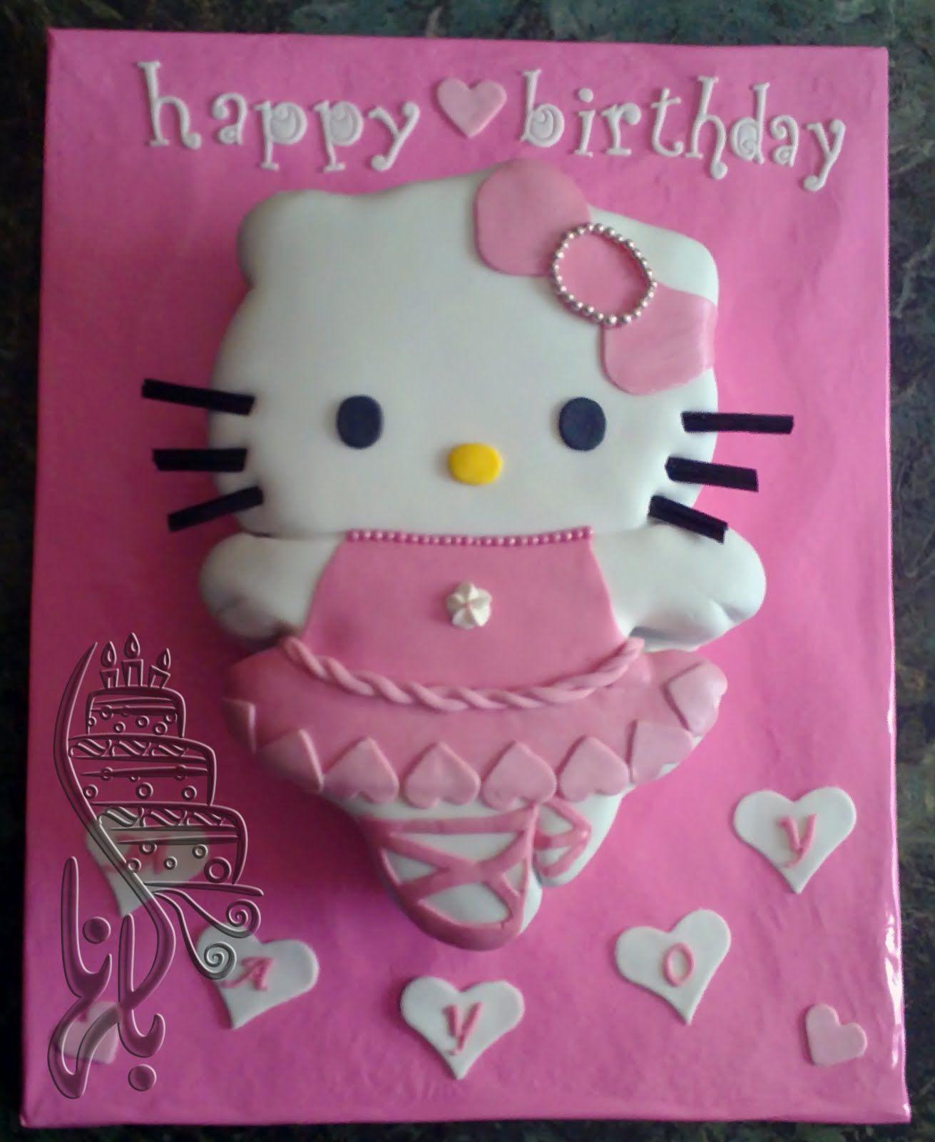 Hello kitty ballerina cake inspriation party ideas for - Ballerine hello kitty ...