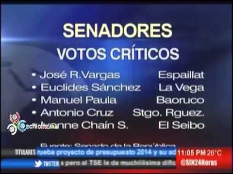 Senado aprueba de urgencia el Presupuesto 2014 y adéndum #Video - Cachicha.com