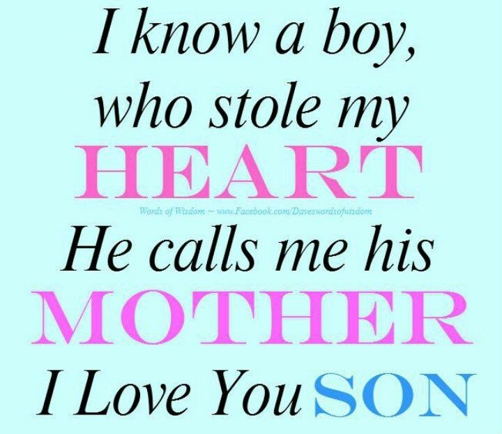 Love You Son Quotes Luv You Son Quotes That I Love Places To