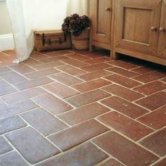 Terracotta Tiles Herringbone Pattern Google Search
