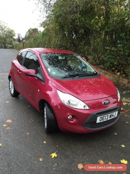 Ford Ka Zetec 1 2 Start Stop Low Mileage Ford Ka Forsale