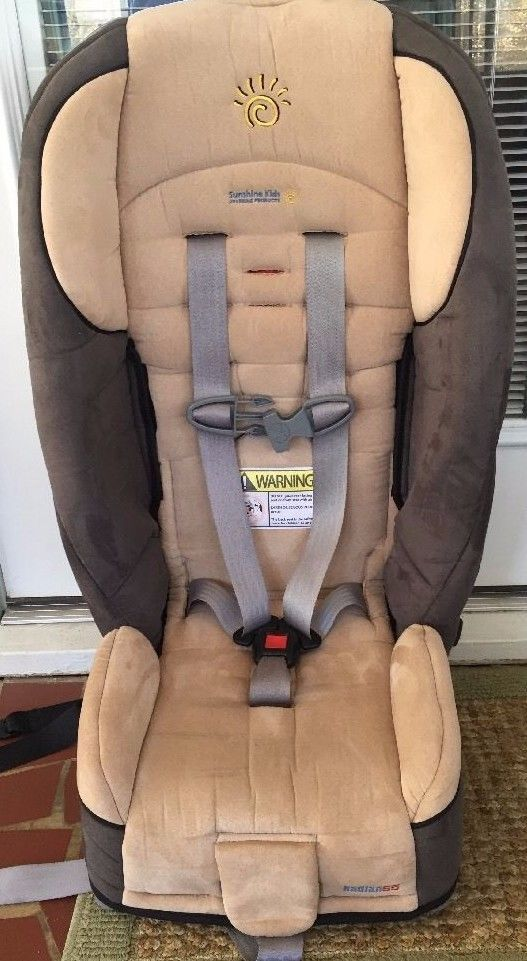 Sunshine Kids Radian 65 Convertible 5 Point Harness Car Seat CLEAN