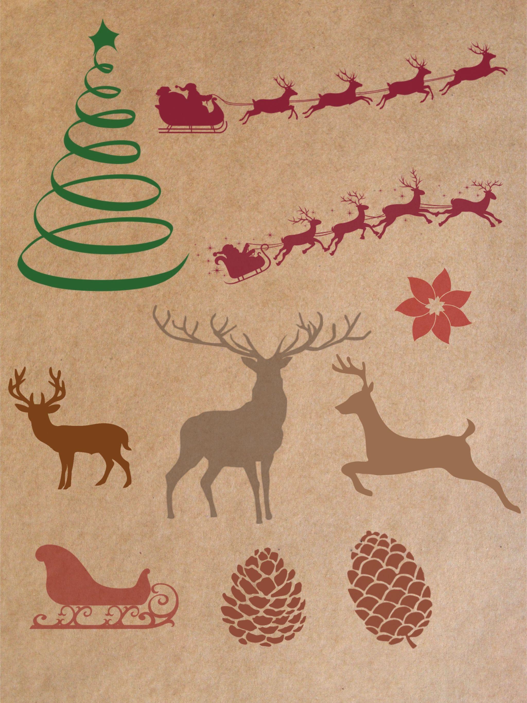 Free Procreate Christmas Stamp Brushes Part 2 Free Procreate Christmas Stamps Procreate