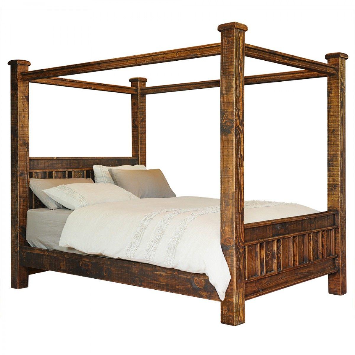 Settler Bedroom Furniture Buy Online Early Settler Reclaimed Four Poster Pine Bed