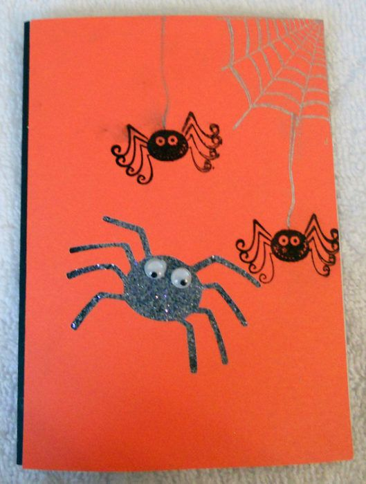Halloween Cards To Make Ideas Part - 33: 40 Handmade Halloween Cards U0026 Party Invitations