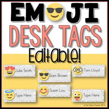 Peachy Editable Desk Tags Emoji Edition Emojis Desk Tags Download Free Architecture Designs Scobabritishbridgeorg