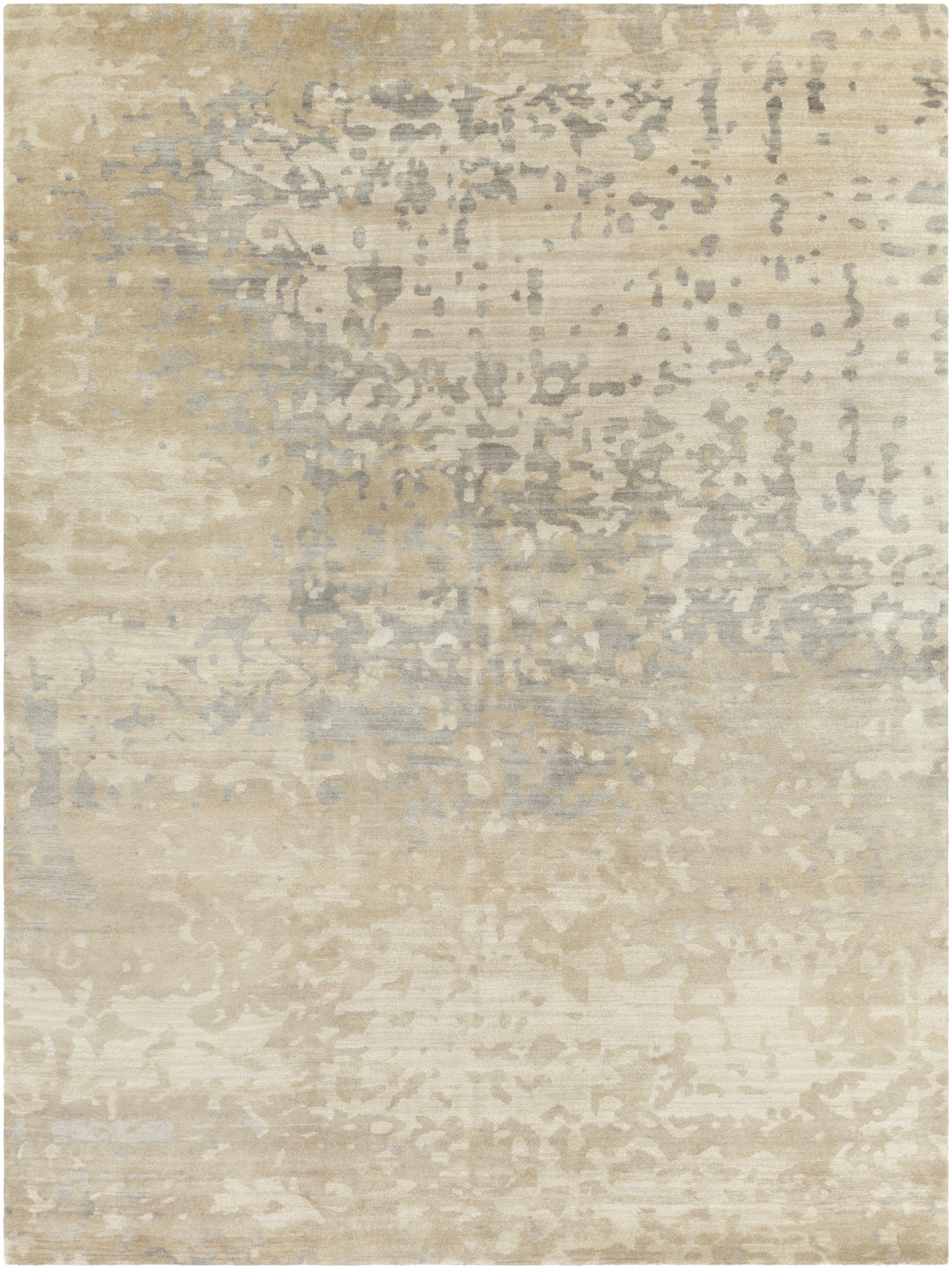 Surya Watercolor Wat5014 Neutral Grey Modern Area Rug In 2020