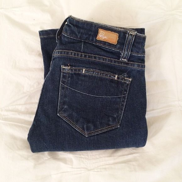 NWOT Paige Jeans -  Laurel Canyon Paige jeans style Laurel Canyon. Wide leg is back! Or they would be great as cut-off shorts! Price negotiable. Reasonable offers accepted. Paige Jeans Jeans