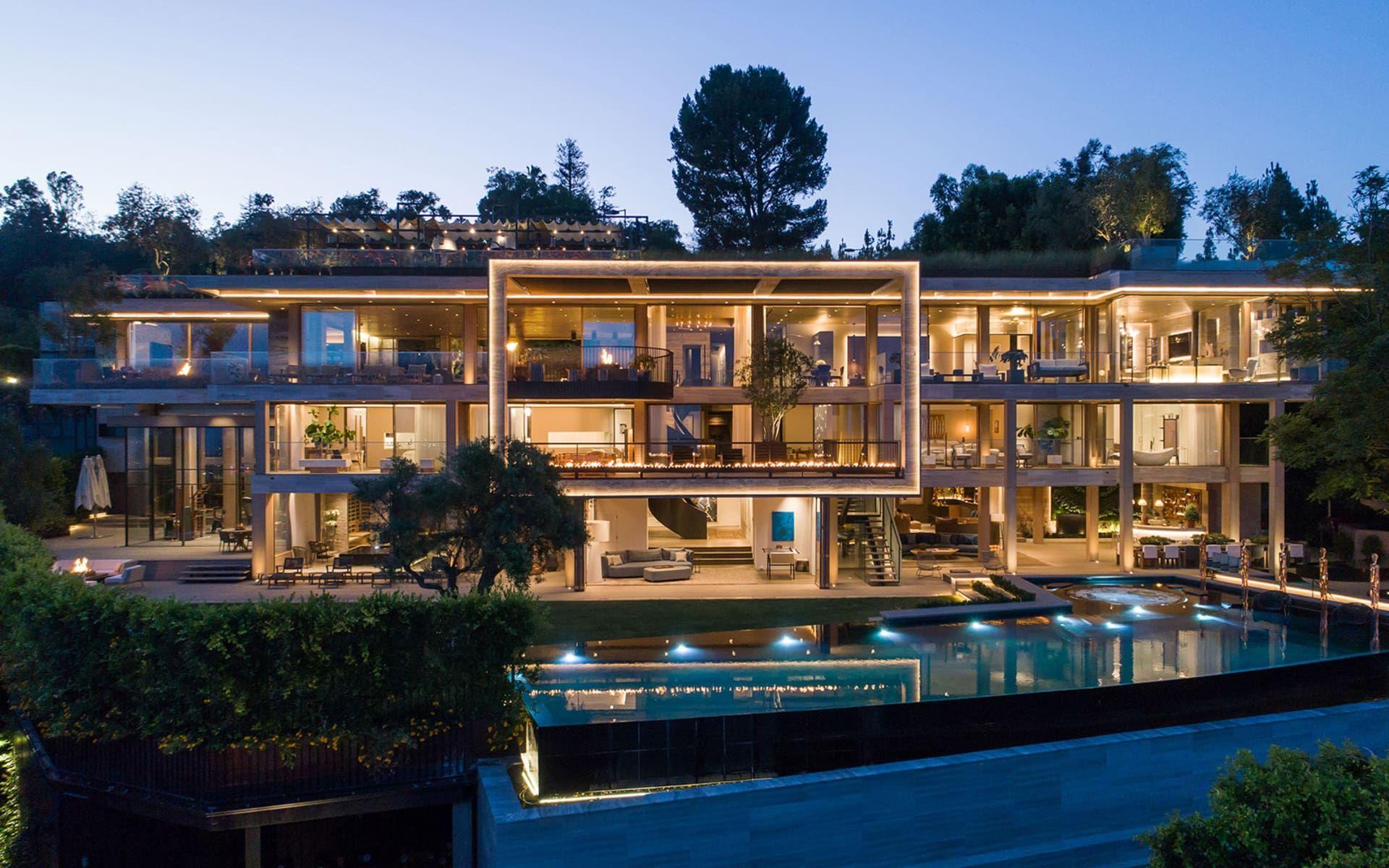 822 Sarbonne Rd Los Angeles Ca 90077 Hilton Hyland Mansions Mega Mansions Luxury Homes Dream Houses